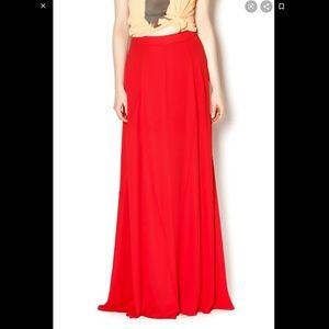 Show Me Your Mumu Red Princess Di Ballgown Maxi S